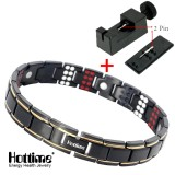 Hottime 109 Pcs Bio Elements Energy Stone 3500 Gauss Magnetic Therapy Germanium Bracelet 4 In 1 Men S Fashion Health Jewelry 10155 Intl Hottime Cheap On China