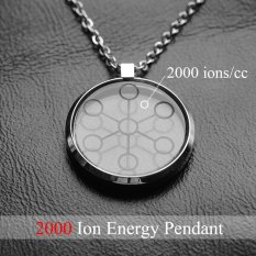 Hottime 2000cc High Ion Bio Chi Quantum Pendant Scalar Energy With Stainless Steel Necklace Chain 30027 - Intl By Hottime Life Shop.