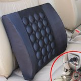 The Cheapest Household Electric Massage Pillow For Car Office Chair Black Intl Online