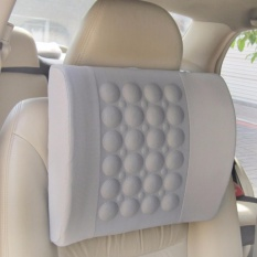 Best Reviews Of Electric Massage Pillow For Vehicle Grey Intl