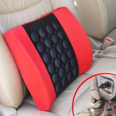 Review Household Electric Massage Pillow For Car Red Intl Yingjie On China