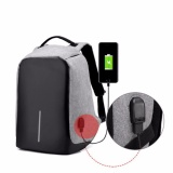 Discount Hushgecko Anti Theft Travel Backpack Business Laptop Book Sch**L Bag With Usb Charging Port For College Student Work Men Women 14 Inch Intl Hush Gecko