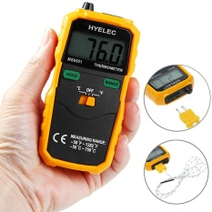 Low Cost Hyelec Ms6501 K Type Digital Thermometer Temperature Meter Intl