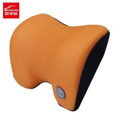 Icaroom I 603Ms Car Headrest Space Memory Cotton Pillow Universal Neck Waist Soft Seat Support Cushion Car Styling Supplies Orange Intl Goft Cheap On China