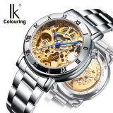 Ik 2017 Automatic Mechanical Women Watch Hollow Skeleton Full Steel Ol Lady Watch Women Montre Intl Promo Code