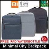 Price Imported Original Xiaomi Minimal City Backpack Charcoal Grey Light Grey Singapore