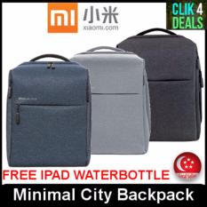 New Imported Original Xiaomi Minimal City Backpack Charcoal Grey Light Grey