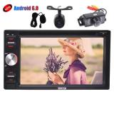 Where To Shop For Include Front And Back Up Cameras Double Din Model 6 2 Android 6 Quad Core Car Stereo In Car Dvd Player With Gps For Universal Car Support Am Fm Radio Wifi Bluetooth Mirrorlink Sw Control Intl