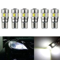 Inlink White 6Pcs Canbus T10 501 194 168 5630 5730 Led 6Smd Auto Car Error Free Replacement Of Indicator Lights Reading Lights License Plate Lights Door Lights Side Marker Light Tail Light Backup Lights Wedge Light Dc 12V White Discount Code