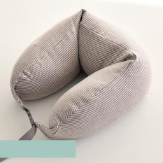 Best Deal Inspired Well Fitted Microbeads U Shape Travel Neck Pillow Intl