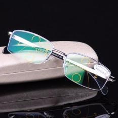 Cheaper Intelligence Progressive Multifocal Commercial Reading Glasses Bifocal See Near Far Ultra Light 2 00