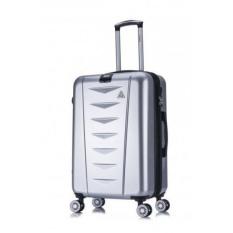 InUSA AirWorld Lightweight Hardside 28 inch Spinner Silver IUAWD00L-SIL 142388310195 - intl