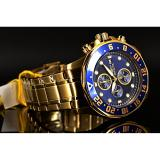 Where To Buy Invicta Men S 15942 Specialty 18K Gold Ion Plated Stainless Steel Bracelet Watch