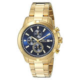 Compare Invicta Men S 19223Syb Specialty Analog Display Quartz Gold Watch Export Intl Prices