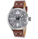 Buy Invicta Men S I Force Quartz Stainless Steel And Brown Leather Casual Watch Model 22182 Intl Invicta Cheap