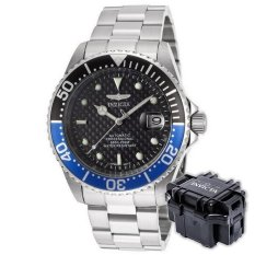 Price Invicta Pro Diver Men 43Mm Case Silver Stainless Steel Strap Black Dial Automatic Watch 15584 W Impact Case B Intl Invicta Online