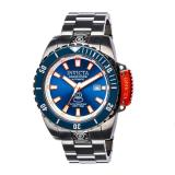 Discount Invicta Pro Diver Men 46Mm Case Gunmetal Stainless Steel Strap Blue Dial Automatic Watch 19870 Invicta Singapore