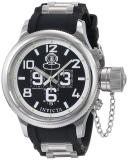 Cheap Invicta Russian Diver Collection Quinotaur Chronograph Men S Stainless Steel Polyurethane Strap Watch Inv4578