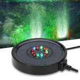 Buy Ip68 Waterproof Submersible Underwater Aquarium Bubble Curtain Light Mini Color Changing 12 Led Fish Tank Lamp With 1 5M Pipe Tube For Air Pump Intl Not Specified Online