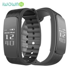 IWOWNFit i3 Wrist Smart Band Wristband Bluetooth Pedometer Sleep Monitor Message Reminder Bracelet 49862 - intl