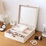 Price Comparisons Jewellery Packaging Box Exquisite Makeup Case Jewelry Watches Organizer Container Boxes Graduation Birthday Gift Jjcf215 Intl