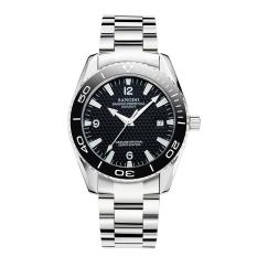 Purchase Jiaukon Sangdo Automatic Mechanical Watch Back Through The Calendar Business Steel Large Dial Fashion Men S Watches 1 X Men Watch Whiteblack Online