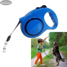 Jvgood Dog Retractable Leash 5m With Nylon Extendable Lead And Comfortable Handle Durable, No Tangle, Light-Weight Retractable Leash For Small And Medium Dogs By Jvgood.