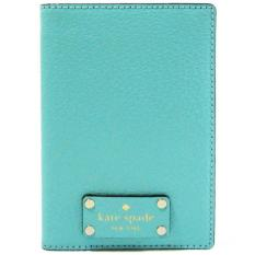 Best Deal Kate Spade Wellesley Passport Holder Freshair Blue Wlru1236