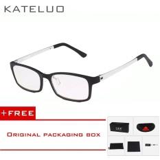 Shop For Kateluo Computer Anti Blue Laser Fatigue Radiation Resistant Reading Glasses Frame Eyeglasses 1310