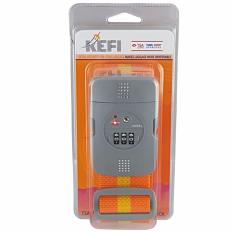 Kefi Heavy Duty Luggage Strap With Tsa Lock By Travel Supplies.