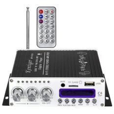 Coupon Kentiger V10 Bluetooth Hi Fi Class Ab Stereo Super Bass Audio Power Amplifier Black Intl