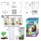 Cheap Kids Fish Aquarium My Fun Fish Self Cleaning Tank Complete Aquarium Setup Intl Online