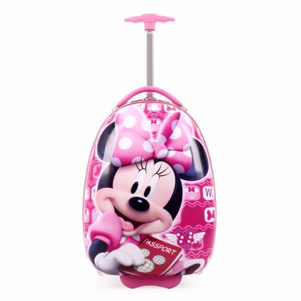 Kids Luggage 16 inch (Minnie) Child Travel Suitcase School Bag