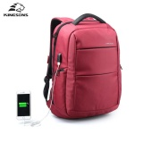 Compare Prices For Kingsons External Usb Charging 15 6 Inch Laptop Backpack Waterproof Nylon Business Backpack Travel Bag Anti Theft Sch**l Bag Intl