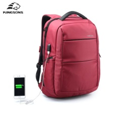 Kingsons External Usb Charging 15 6 Inch Laptop Backpack Waterproof Nylon Business Backpack Travel Bag Anti Theft Sch**l Bag Intl Discount Code