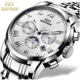 How Do I Get Kinyued Top Brand Mechanical Watch Luxury Men Business Watchs Stainless Steel Band 3Atm Waterproof Calendar Function Mens Famous Male Watches Clock For Men Wrist Watch Intl