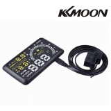 Discounted Kkmoon 5 5 Inch Car Hud Head Up Display Km H Mph Speeding Warning Obd2 Interface Windshield Project System Intl