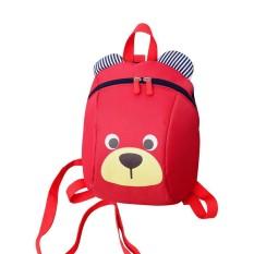Kobwa Cute Cartoon Little Bear Printed Toddler Kids Mini School Backpack Safety Harness Strap Bag - Intl By Kobwa Direct.