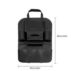 Kobwa Multifunction Leather-Car Pockets, Multi-Purpose Vehicle Storage Bag – One Pad Bags, Two Water Cup Frames, A Tissue Holder, A Umbrella Holder, A Big Bag And A Phone Bag - Intl By Kobwa Direct.