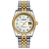 Price Koomyoy Sangdo Genuine Automatic Mechanical Watches Fashion Diamond Men S Watches 1 X Men Watch Goldsilver Generic China