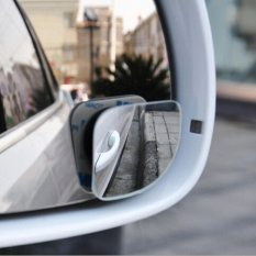 Kuhong 2pcs Convenient Car Wide Angle Sector Adjustable View Rear Blind Spot Mirrors - Intl By Kuhong.