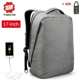 Sale Lan Store Tigernu Waterproof Oxford 17 Inch Laptop Backpack With External Usb Charging Port Business Backpack Large Capacity Travel Bag Anti Theft Sch**l Bag Intl Tigernu Cheap