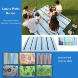 Who Sells Large Waterproof Picnic Blanket Rug Mat Travel Pet Car Dog Bag Hamper Basket Intl The Cheapest