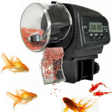 Lcd Digital Auto Automatic Fish Food Feeder Tank Pond Aquarium Timer Feeding Intl Sale