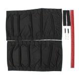 Buy Leadingtrust 70Cm Retractable Auto Sunshade Drape Visor Car Window Curtain Set Of Two Black Intl Cheap China