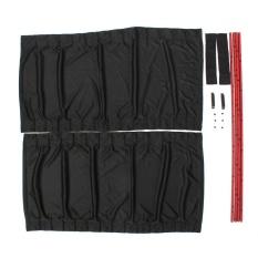Sale Leadingtrust 70Cm Retractable Auto Sunshade Drape Visor Car Window Curtain Set Of Two Black Intl Oem Wholesaler