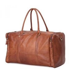 Where Can I Buy Leathario Mens Will Leather Duffle Luggage Weekend Overnight Shoulder Messenger Bag Intl