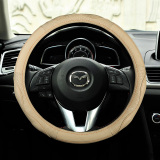 Leather Steering Wheel Cover Mazda 3 Angkesaila Star Cheng Cx 5 Core Wing M6 Art Hereby Cx 4 Car To Cover On Line