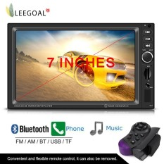 Lowest Price Leegoal Car Stereo Radio Player Bluetooth Audio Mp5 Usb Tf Fm Aux Input Receiver Wireless Remote Control With 7Inch Hd Digital Screen Rear Camera Input Intl