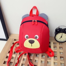 Leegoal Cute Cartoon Little Bear Printed Toddler Kids Mini School Backpack Safety Harness Strap Bag - Intl By Leegoal.
